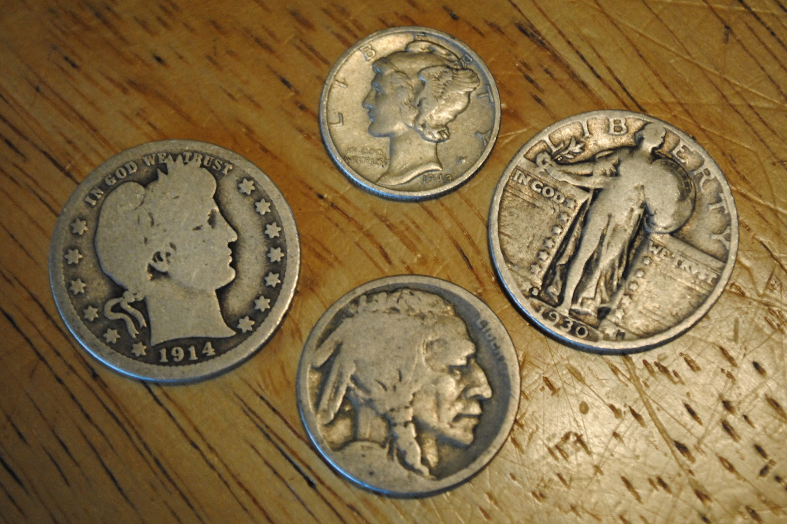 ... from coins especially when you come across a bag of old american coins