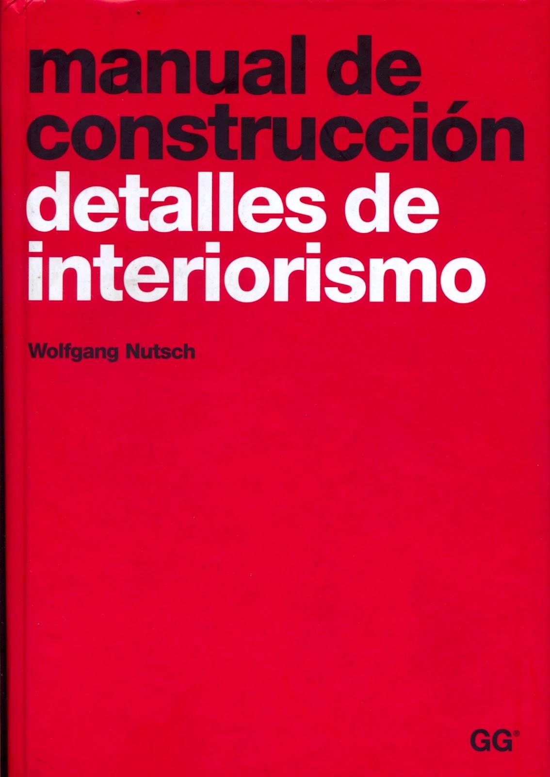 Taller de mobiliario texto manual de construcci n for Paginas de interiorismo