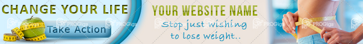 Lose Weight Web Banner Leaderboard: 728×90