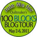 Quiltmaker's 100 Blocks Blog Tour