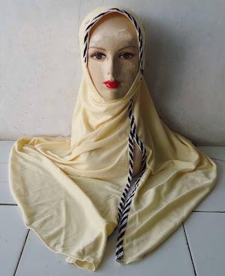 Grosir Kerudung  Jilbab Instan Mirip Robbani