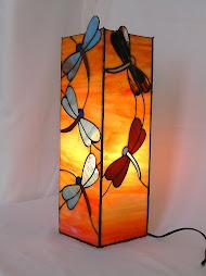 Lampára de libélulas