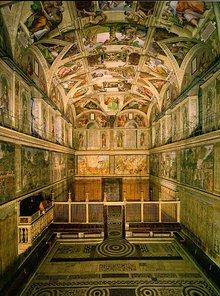 La Capilla Sixtina. Ciudad del Vaticano. Roma. Que visitar en Roma. Lugares de interes en Roma. Turismo en Roma