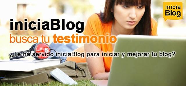 iniciaBlog busca tu testimonio