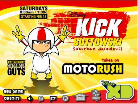 Juegos de kick buttowski gratis