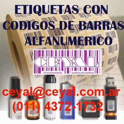 Saavedra Argentina etiquetas adhesiva codigo - articulo - precio