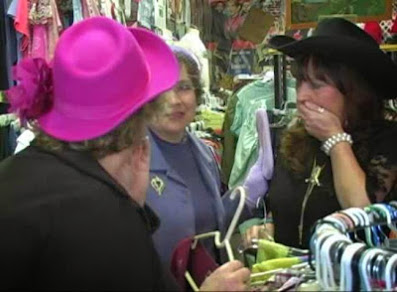 Gossiping at the Giddy Up Boutique