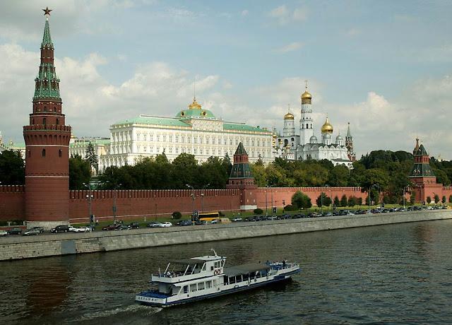 Palacio del Kremlin en Moscú