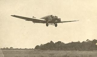 Luft Hansa Junkers G-24-3m. Línia Barcelona-Berlin Arribant a El Prat.