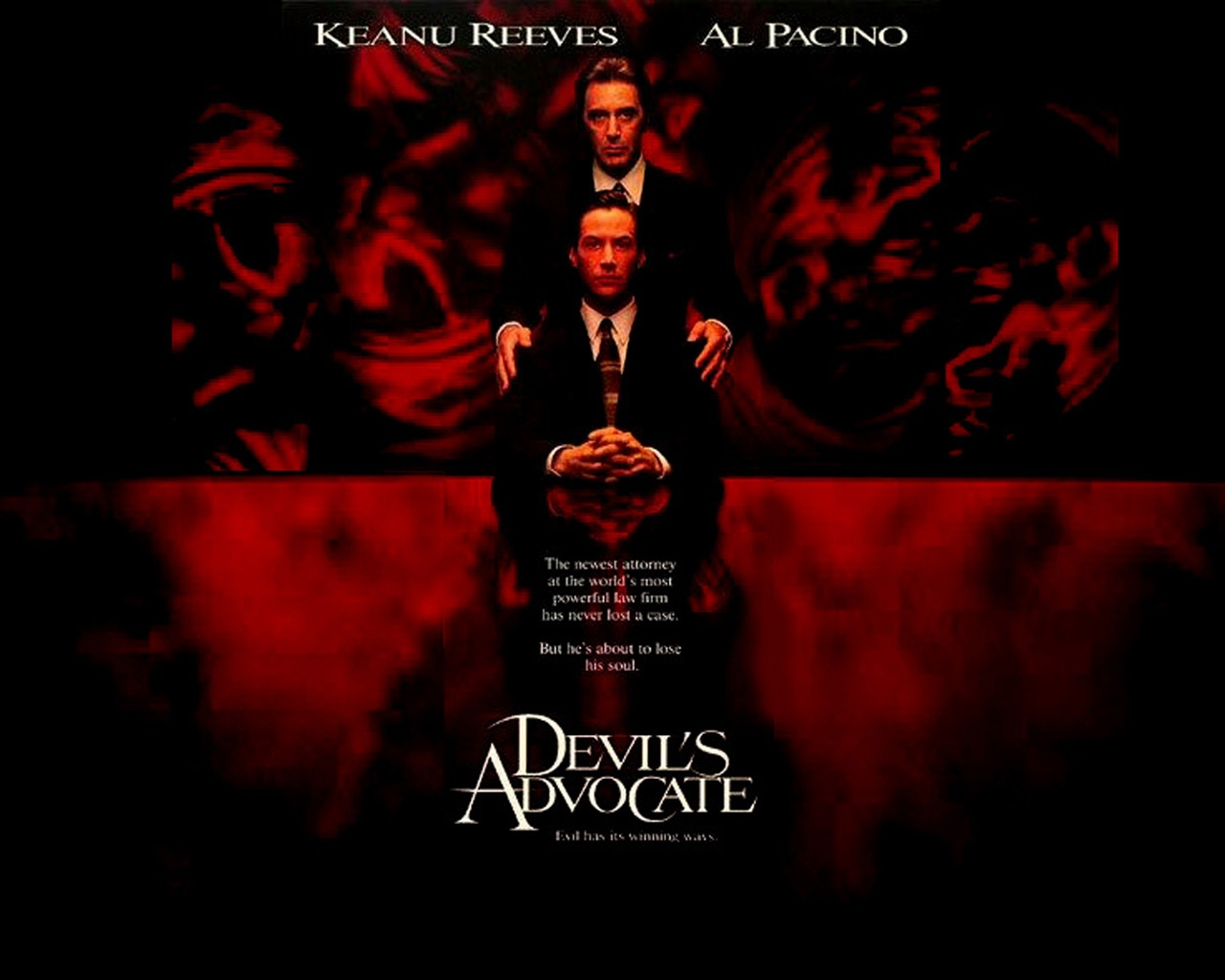 "an analysis of the movie the devils advocate ""devil's advocate"" is very offensive there is a tremendous amount of sexual content including innumerable nude scenes, several explicit sex scenes, and references to heinous sex acts the."