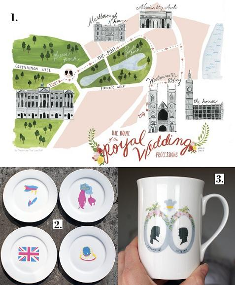 I thought I'd share these Royal wedding inspired things that I recently