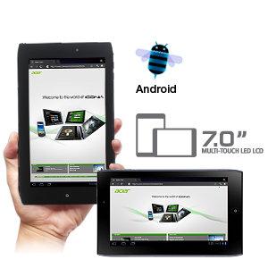 Android pada tab A100