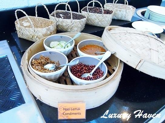 lone pine hotel penang bungalow nasi lemak ingredients