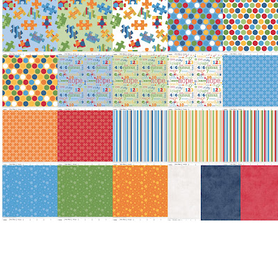 Riley Blake Designs PIECES OF HOPE Quilt Fabric