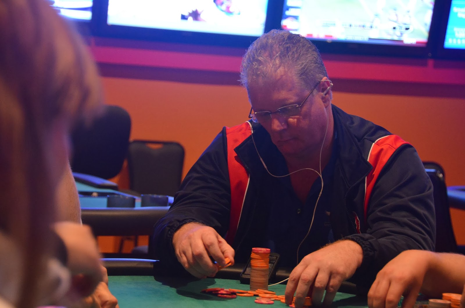 Parx big stax iv big stax 1000 day 1a photo gallery for Parx poker room live game report