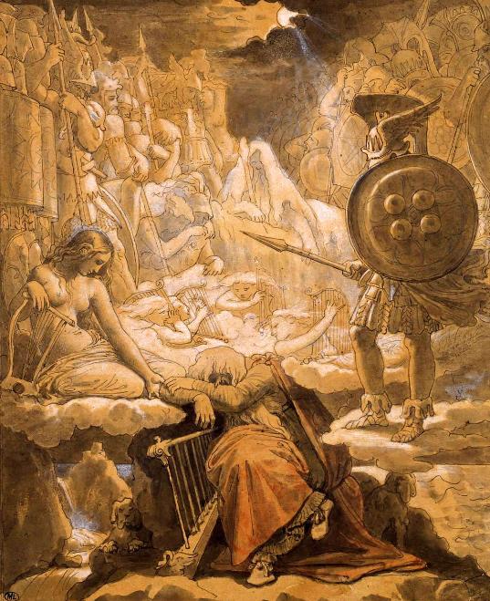 Le mythe d'Ossian ingres