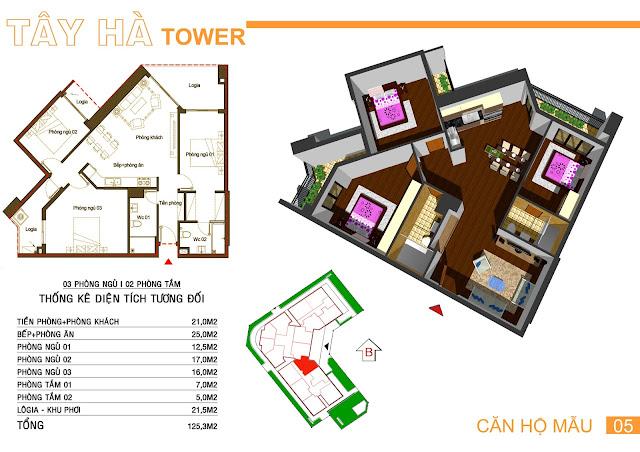 Căn 05 Tây hà tower