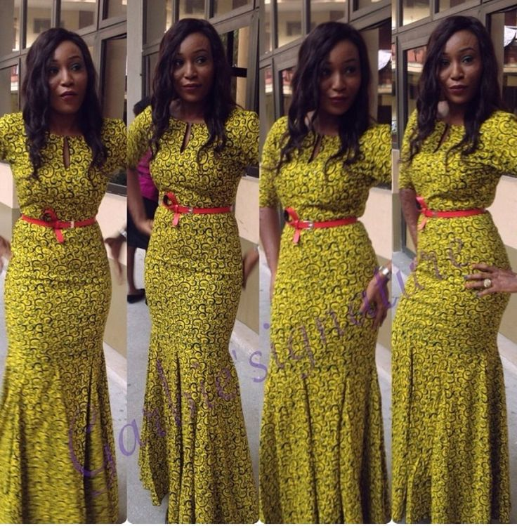 Classy Long Ankara Style Gown For Ladies - Debonke House Of Fashion