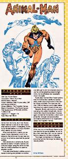 Hombre Animal (ficha dc comics)