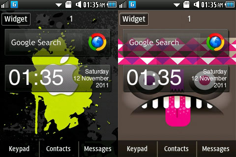 Read more on Samsung widget: notes in android corby 2 downloads .