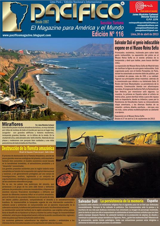 Revista Pacífico Nº 116 Turismo