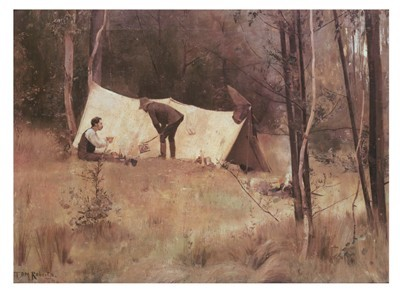 Trentham tales tom roberts australian impressionist for Famous prints for sale