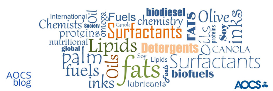 AOCS (American Oil Chemists' Society) your forum for fats, oils, surfactants, and detergents