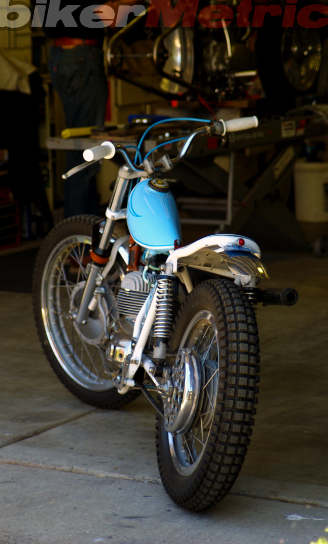 bultaco matador 250cc single tracker motorcycle | busch &amp; busch