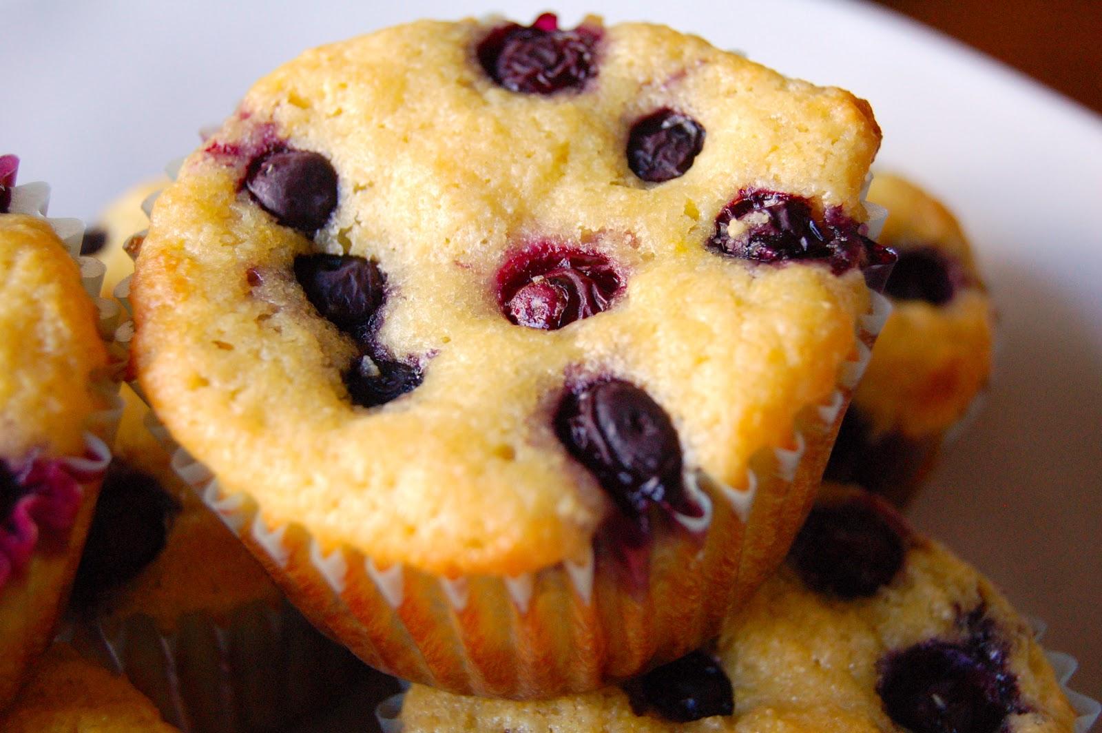 Lemon Blueberry Muffins (Gluten Free) | www.kettlercuisine.com
