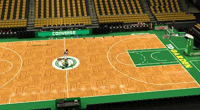 2K Celtics Court Mod