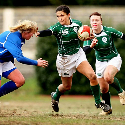 photo of girls playing rugby № 17818
