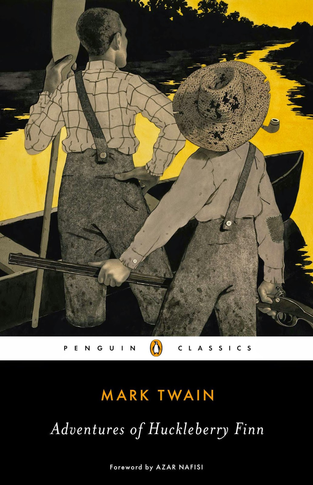 an examination of the narration of huckleberry finn by mark twain Mark twain chose huck finn to be the narrator to make the story more realistic and so that mark twain could get the reader to examine their own attitudes and beliefs.