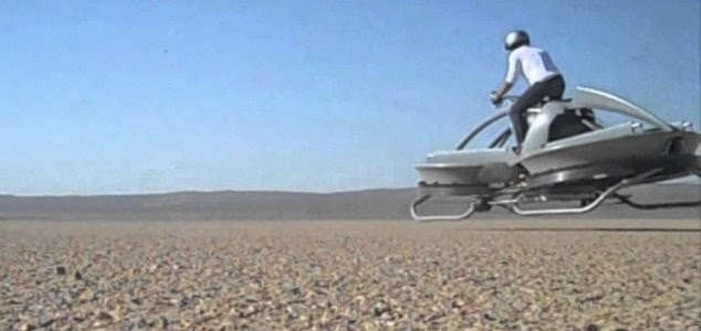 A Hover Bike Straight Out Of 'Star Wars' Will Hit The Market In 2017