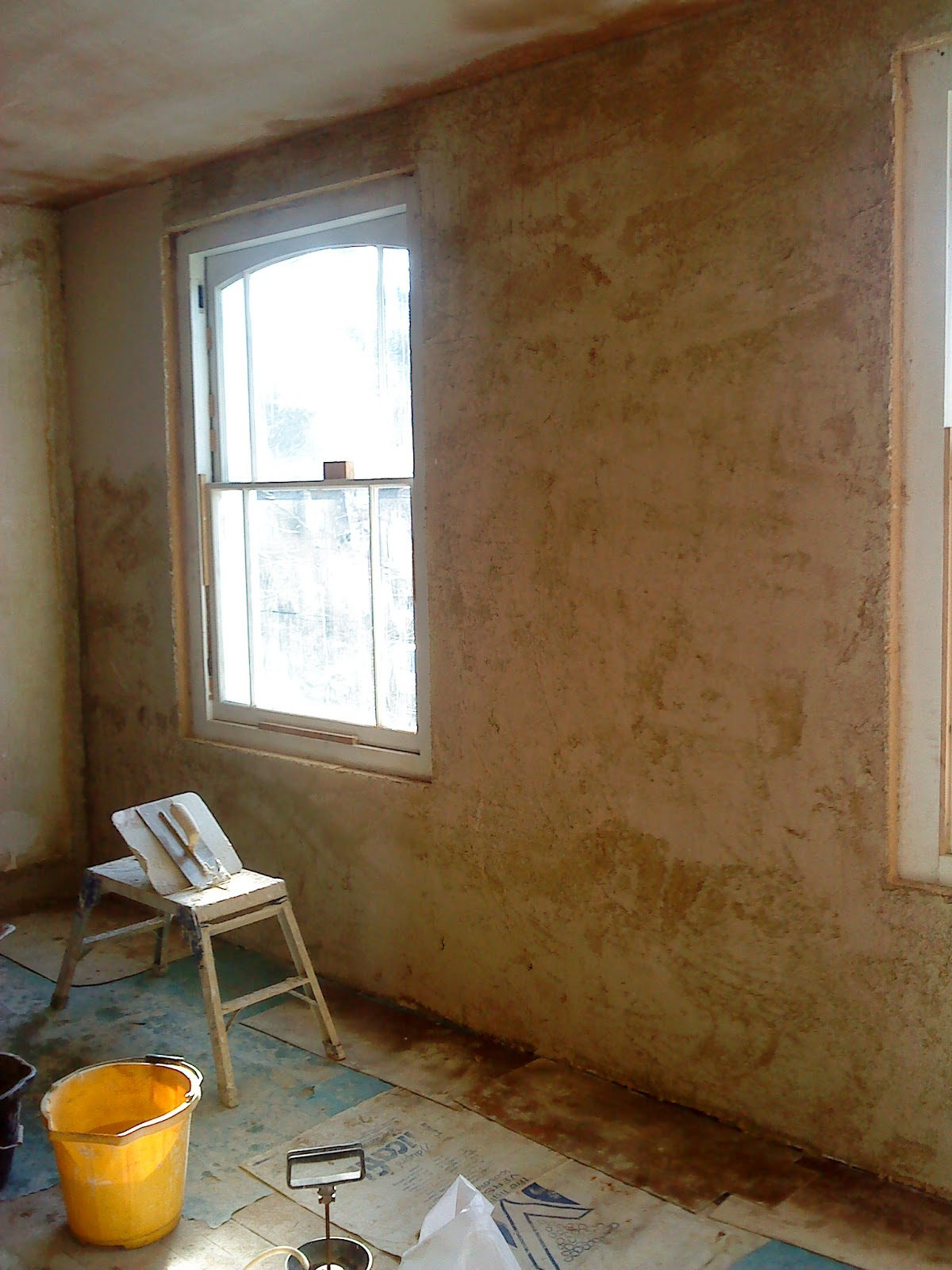 Skimming With Lime Plaster