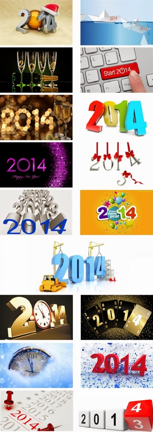 Happy New Year 2014 Theme For Windows 7 And 8 8.1