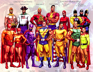 Superheroes de la Golden Age