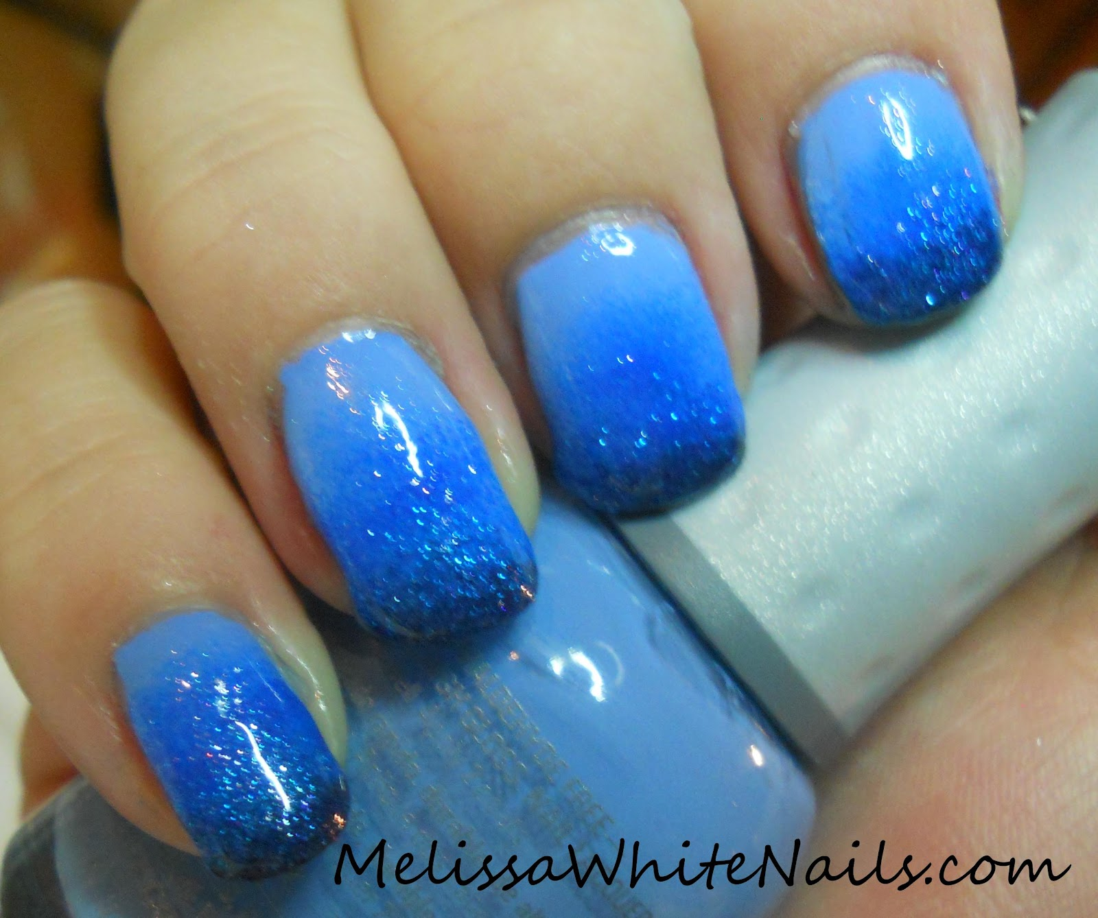 Adventures of a Nail Tech: Blue Ombre Gradient