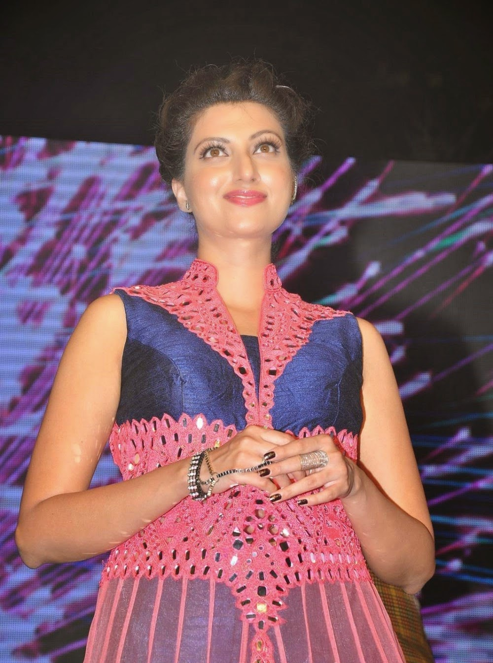 Hamsa Nandini photos at Rudramadevi Audio Launch Warangal