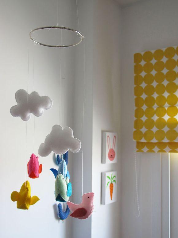 tutorial cmo hacer un movil para una habitacin infantil