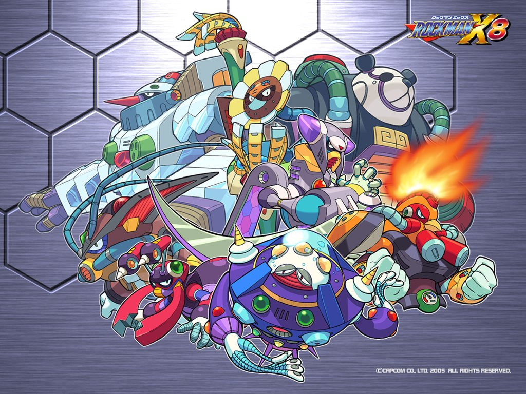 Megaman HD & Widescreen Wallpaper 0.852538351469407