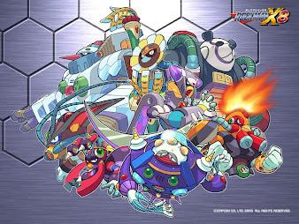 #10 Megaman Wallpaper