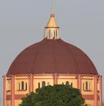 A cúpula da igreja