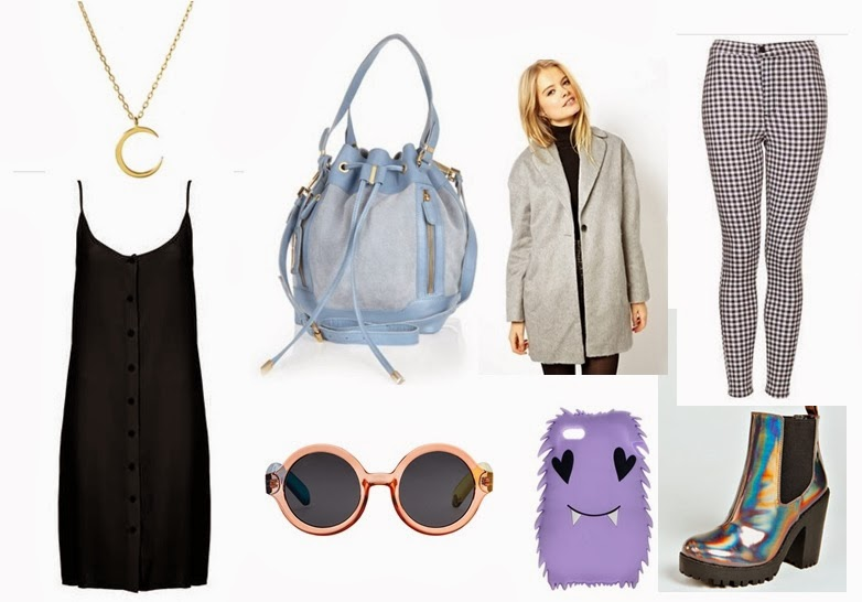 Spring trend wish list outfit topshop asos river island le specs craig x karl gingham pastels