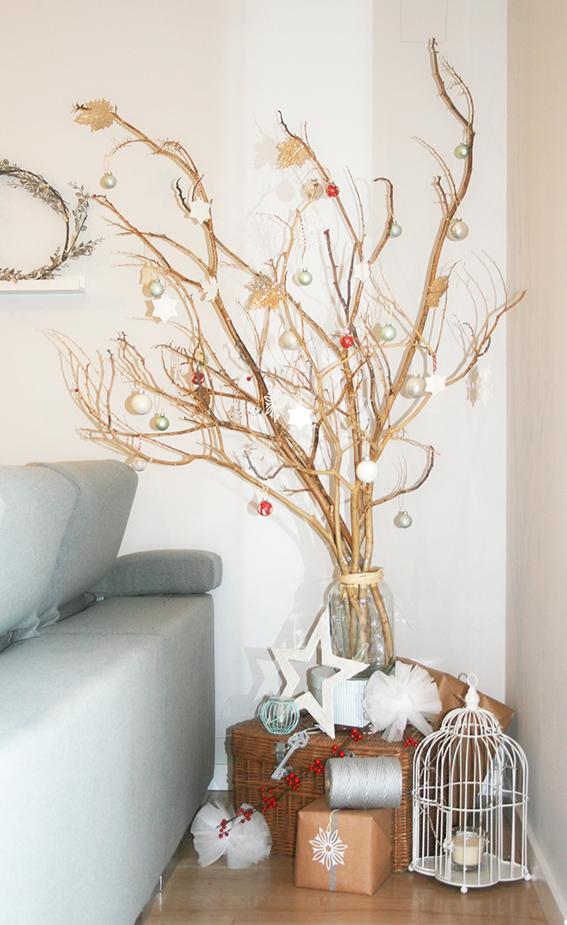Lluvia de ideas nuestro rbol de navidad - Como decorar un arbol seco ...