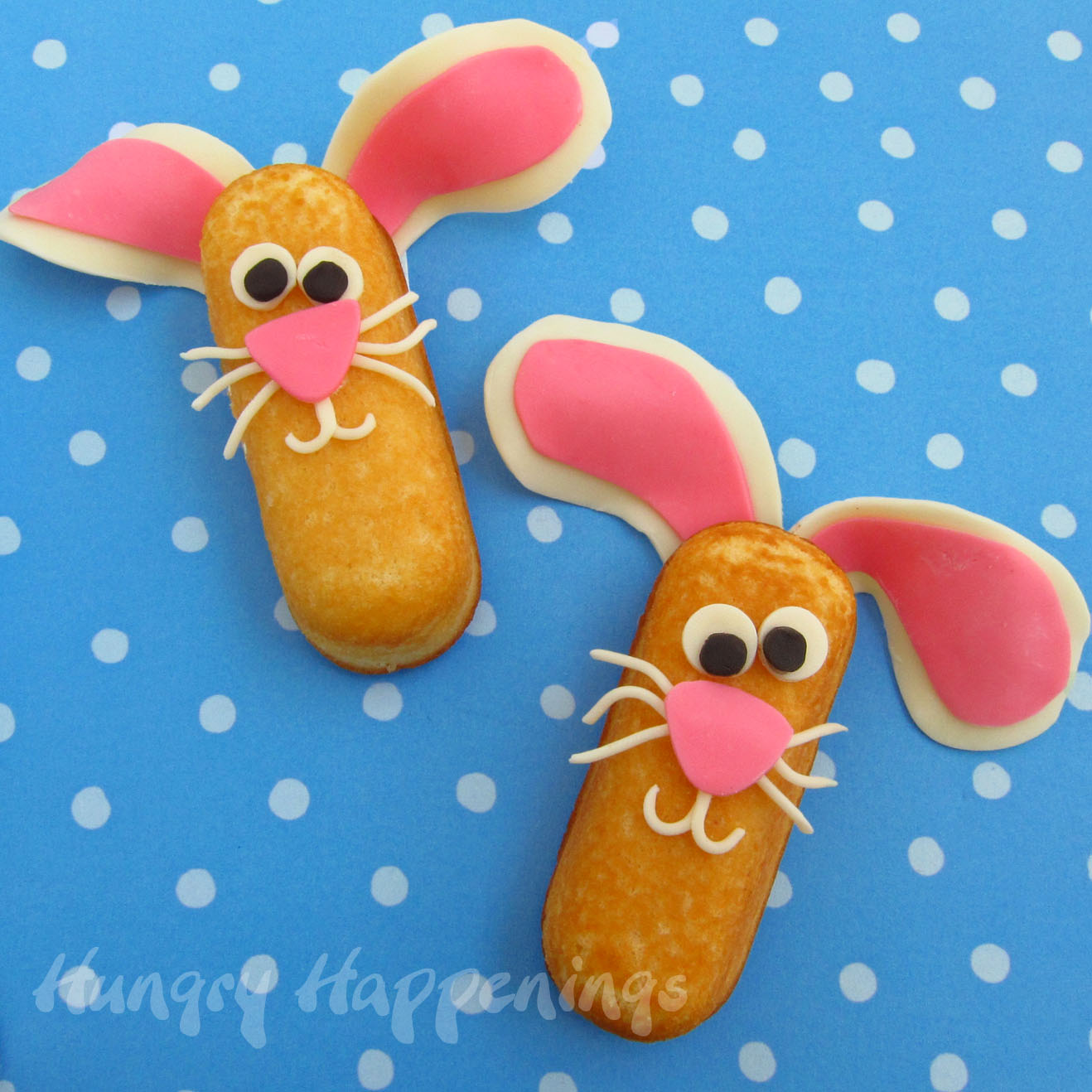 Reese 39 s peanut butter bunny feet hungry happenings for Cool food ideas for kids