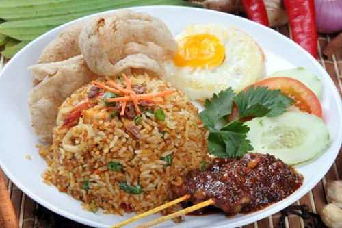 Nasi Goreng Recipe (Indonesian Fried Rice) Recipes — Dishmaps