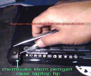 cara membuka laptop berbagai merk