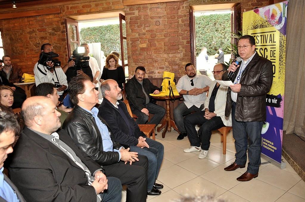 Gerente do Sesc Teresópolis, Eugênio Nascimento, fala sobre os destaques da programação