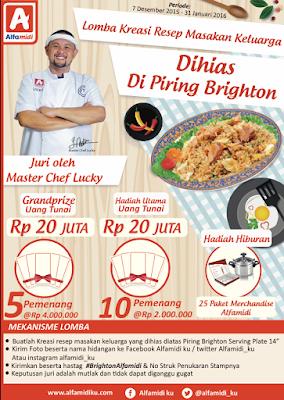 Info Kontes - Kontes Kreasi Resep Masakan Keluarga