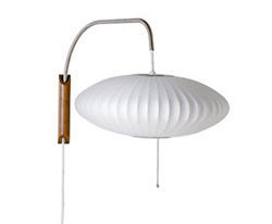 Nelson saucer wall sconce (Design Within Reach, $375)